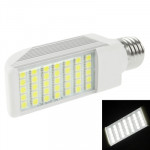 E27 8W White 35 LED 5050 SMD LED Transverse Light Bulb, AC 85V-265V