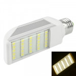E27 6W Warm White 25 LED 5050 SMD LED Transverse Light Bulb, AC 85V-265V