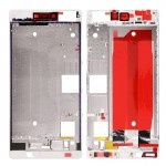 iPartsBuy Front Housing Screen Frame Bezel Replacement for Huawei Ascend P8(White)