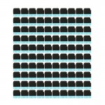 100 PCS iPartsBuy Speaker Ringer Buzzer Back Sponge Foam Slice Pads for iPhone 6s