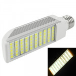 E27 12W Warm White 50 LED 5050 SMD LED Transverse Light Bulb, AC 85V-265V