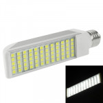 E27 14W White 60 LED 5050 SMD LED Transverse Light Bulb, AC 85V-265V