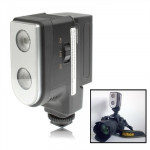 2 Digital LED Video Light with Two Grade Dimming Function(Black)