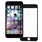 iPartsBuy 2 in 1 for iPhone 6 (Front Screen Outer Glass Lens + Frame)(Black)