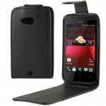 Vertical Flip Leather Case with Magnetic Buckle for HTC Desire 200 (Black)