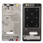 iPartsBuy for Huawei Honor 5X Front Housing LCD Frame Bezel Plate(White)