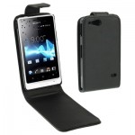 Vertical Flip Holster for Sony Xperia Go / ST27i