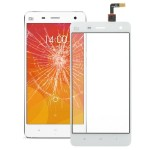 Touch Screen Digitizer Glass Lens Replacement Part for Xiaomi Mi4(White)