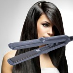 Flat Iron Electric Curling Hair Straightener, Size: Small