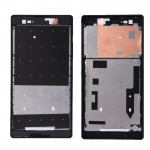 iPartsBuy Front Housing Replacement with Adhesive Sticker for Sony Xperia T2 Ultra(Black)