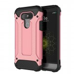 For LG G5 Tough Armor TPU + PC Combination Case(Rose Gold)