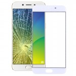 iPartsBuy OPPO R9s Front Screen Outer Glass Lens(White)