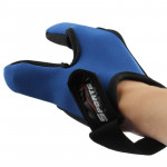 Fishing Special Two Fingers Gloves(Blue)
