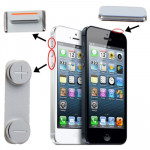 iPartsBuy 3 in 1 for iPhone 5 (Mute Button + Power Button + Volume Button)