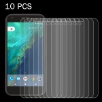 10 PCS for Google Pixel 0.26mm 9H Surface Hardness 2.5D Explosion-proof Tempered Glass Screen Film