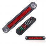 DC 12V Car LED Programmable Showcase Message Sign Scrolling Display Lighting Board with Remote Control