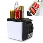 Car Auto 48W Portable Multi-Function Cooling and Warming 6L Low Noise Refrigerator for Car and Home, Cord Length: 1.8m