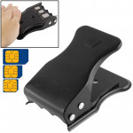 All in One Nano SIM Card & Micro SIM Card Cutter with SIM Card Tray / SIM Card Pin for iPhone 5 & 5C & 5S, iPhone 4 & 4S