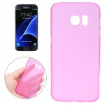 For Samsung Galaxy S7 / G930 0.3mm Ultrathin Translucent Color PP Protective Cover Case (Magenta)