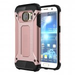 Coque renforcée rose pour Samsung Galaxy S7 / G930 Armure Tough TPU + PC Or - Wewoo