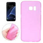 Coque Magenta pour Samsung Galaxy S7 Edge / G935 0.3mm ultra-mince translucide couleur PP Housse de protection - Wewoo