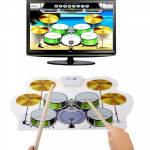 MD-1008 USB 2.0 MIDI Soft Roll-up Drum Kit, Size: 46 x 31cm
