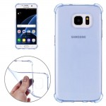 For Samsung Galaxy S7 / G930 Shock-resistant Cushion TPU Protective Case(Blue)