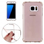 For Samsung Galaxy S7 Edge / G935 Shock-resistant Cushion TPU Protective Case(Black)