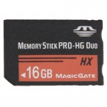 16GB Memory Stick Pro Duo HX Memory Card - 30MB PER Second High Speed, for Use with PlayStation Portable (100% Real Capacity)
