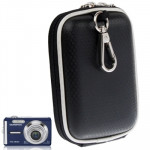 Universal Mini Digital Leather Camera Bag, Size: 120 x 80 x 35mm (Black)