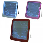 Writing Sign Display Light LED Message Board, Size: 225x200x22 mm (Random Color Delivery)