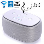Mini NFC Bluetooth 3D Incredible Smart Speaker with MP3 Function, Support Hands-free Call / TF Card(Silver)