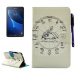 For Samsung Galaxy Tab A 7.0 (2016) / T280 Twelve Constellations Pattern Horizontal Flip Leather Case with Holder & Wallet & Car