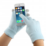 Touch Screen Gloves for iPhone 5, iPhone 4 & 4S / iPad / iPod touch (Baby Blue)(Blue)