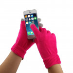 Touch Screen Gloves for iPhone 5, iPhone 4 & 4S / iPad / iPod touch(Magenta)