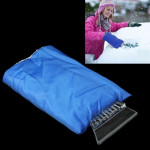 Automobile Supplies Car Snow / Ice Shovel with Protective Sleeve for Cold Winter(Blue)