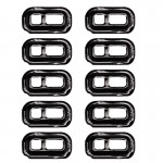 10 PCS iPartsBuy for Samsung Galaxy S7 / G930 & S7 Edge / G935 Flashlight Cover