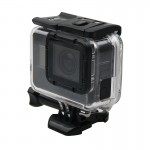 For GoPro HERO5 Skeleton Housing Protective Case + Hollow Back Cover with Buckle Basic Mount & Screw