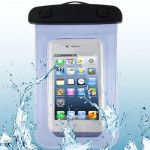 High Quality Waterproof Bag Protective Case for iPhone 5 & 5s & SE / iPhone 4 & 4S / 3GS / Other Similar Size Mobile Phones (Blu