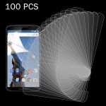 100 PCS for Google Nexus 6 0.26mm 9H Surface Hardness 2.5D Explosion-proof Tempered Glass Screen Film