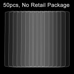 50 PCS Lenovo A2010 0.26mm 9H Surface Hardness 2.5D Explosion-proof Tempered Glass Film, No Retail Package