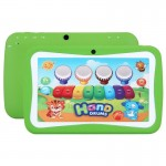 Tablette enfant Enfants Education Tablet PC, 7.0 pouces, 512 Mo + 8 Go, Android 5.1 RK3126 Quad Core à 1,3 GHz, 360 degrés de...