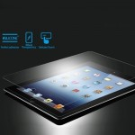 0.26mm 9H+ Surface Hardness 2.5D Explosion-proof Tempered Glass Film for iPad 2 / iPad 3 / iPad 4