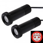 Car Door LED Laser Welcome Decorative Light, LED Laser Transformers Logo (Pair)