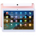 3G Phone Call Tablet, 10.1 inch 2.5D, 2GB+32GB, Android 7.0 MTK6580 Quad Core 1.3GHz, Dual SIM, Support GPS / OTG, with Leather Case(Rose Gold)