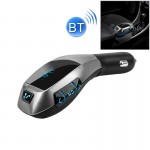 X5 Car Bluetooth FM Transmitter for iPhone, Samsung, Sony, MP3, Support TF Card Music Play / Hands-free Answer Phone / Smart Pho