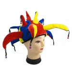 Funny Multicolor Halloween Props Clown Hat