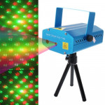 YX-6H, 2-color LED Multifunction Disco DJ Club Holographic Laser Star Projector with Holder, Support Sound Active & Auto Made Fu
