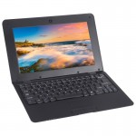TDD-10.1 Netbook PC, 10.1 inch, 1GB+8GB, Android 5.1 ATM7059 Quad Core 1.6GHz, BT, WiFi, HDMI, SD, RJ45(Black)