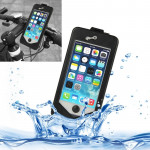 360 Degree Rotation 3 Layer (Plastic + Touch Panel Screen + Silicone Tray) Combination Bicycle Holder for iPhone 5 & 5S
